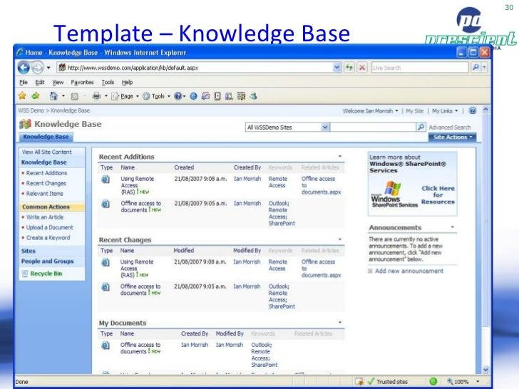 Free Templates for SharePoint Server 2007 MOSS | Dedicated Hosting ...