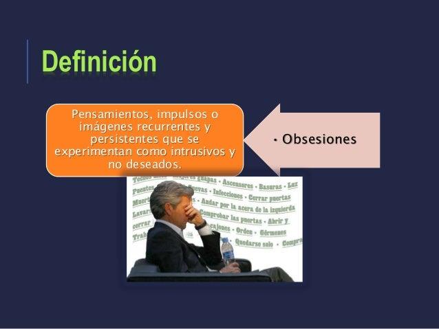 Trastorno obsesivo-compulsivo y trastornos relacionados Slide 3
