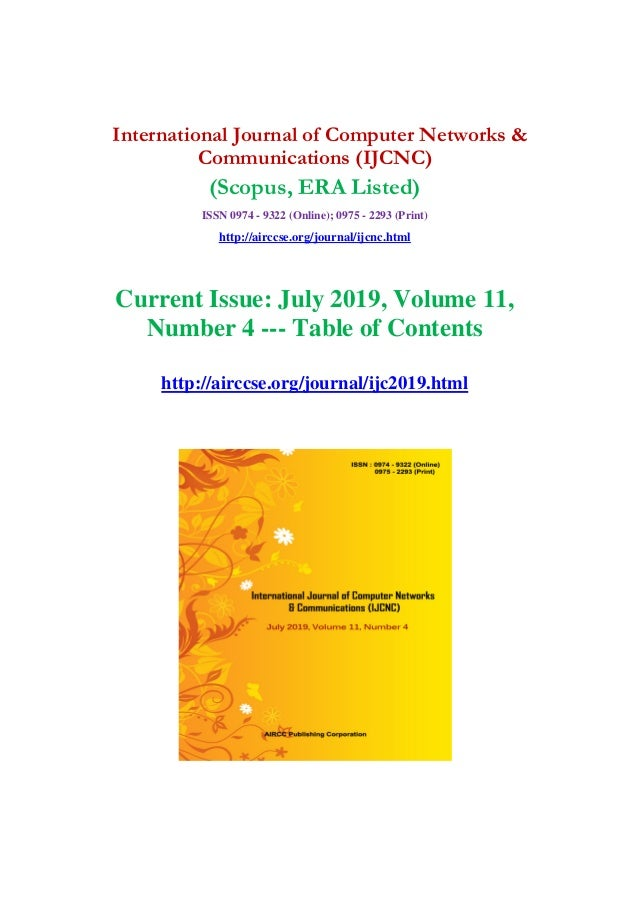 New research articles 2019 - July issue : International