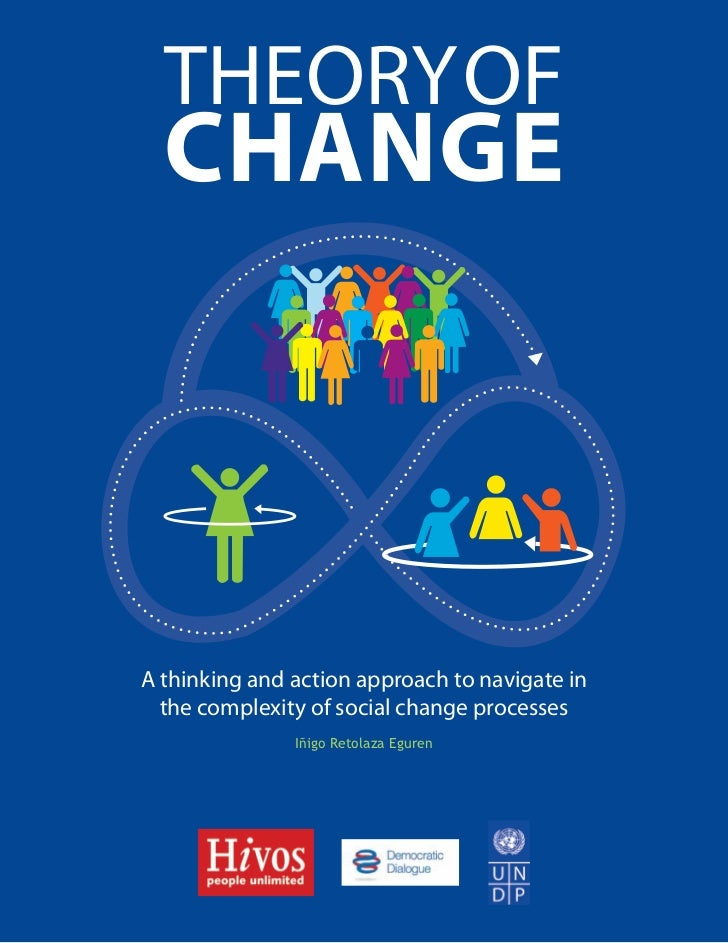THEORY OF  CHANGEA thinking and action approach to navigate in  the complexity of social change processes               Iñ...