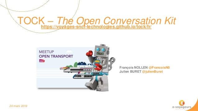 Tock @ Meetup Open Transport