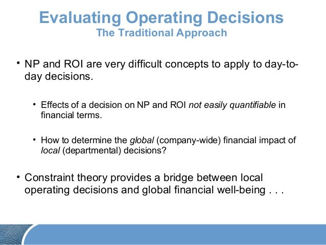financial impacts and constraints Non financial criteria and factors affecting project selection financial appraisal of an investment project covering the capital  environmental constraints.
