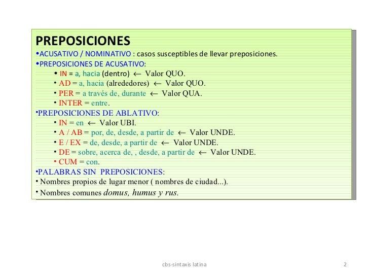 Toda la sintaxis Slide 2