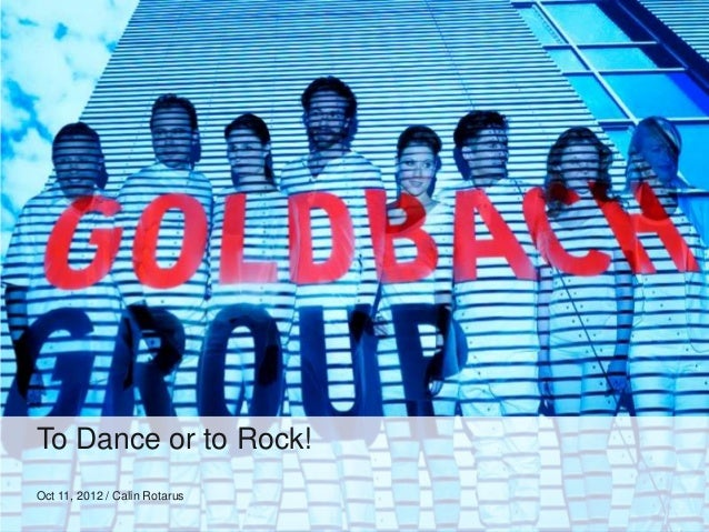 To Dance or to Rock!Oct 11, 2012 / Calin Rotarus