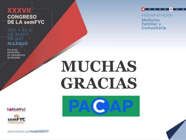 MesaPACAP en el XXXVII Congreso de la semFYC en Madrid