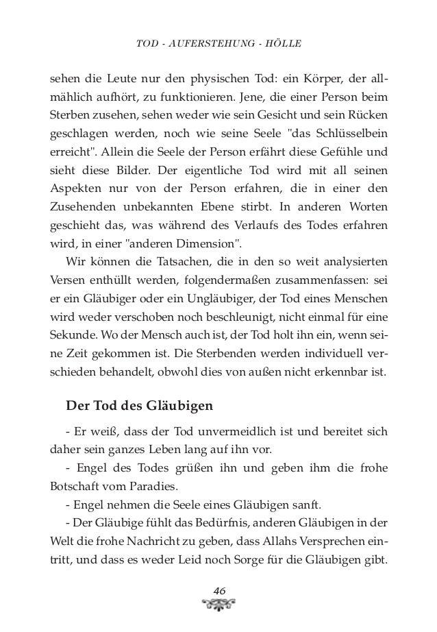 Tod auferstehung hölle. german deutsche