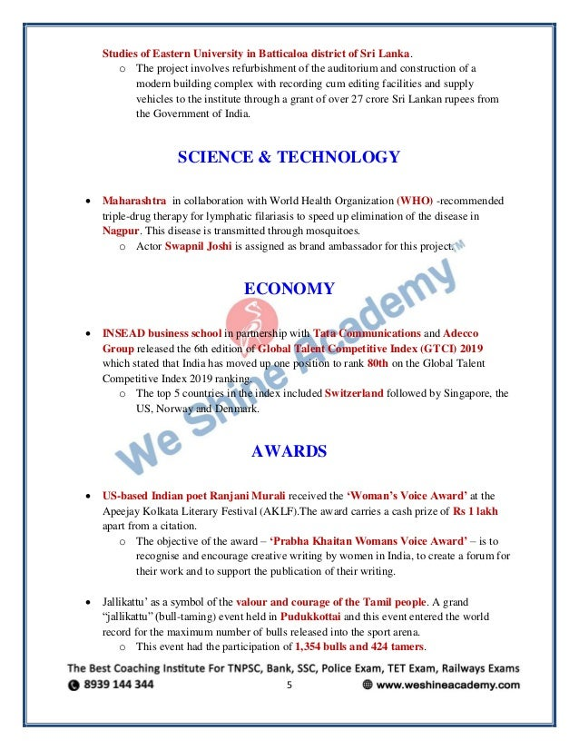 Today english-current-affairs-23 01 2019