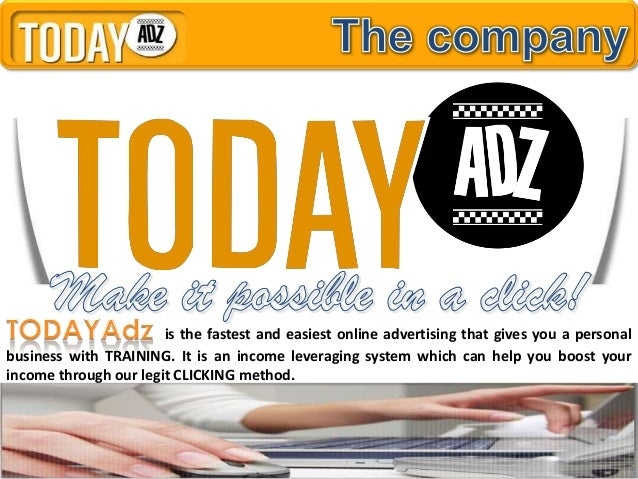 is the fastest and easiest online advertising that gives you a personalbusiness with TRAINING. It is an income leveraging ...