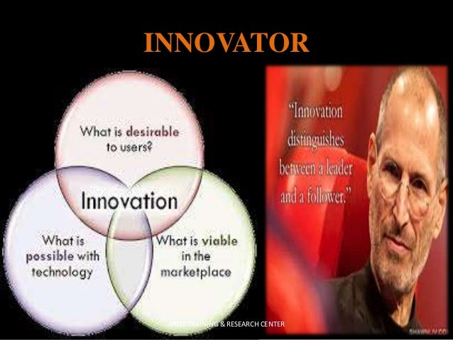 innovator vs entrepreneur There's a fundamental difference between an innovator and an inventor, writes digital entrepreneur tom grasty in a great column over at mediashift idea lab invention is the creation of a.