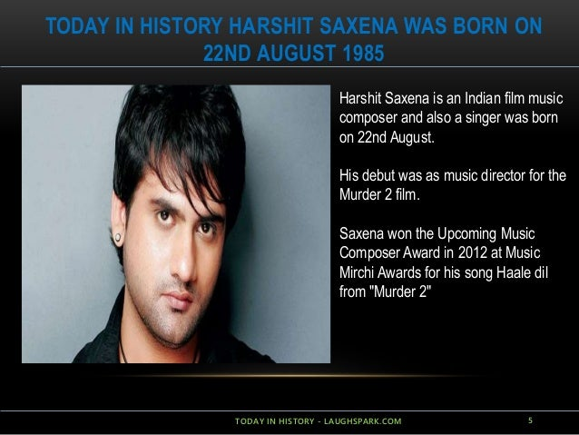 Today In History On 22nd August Laughspark