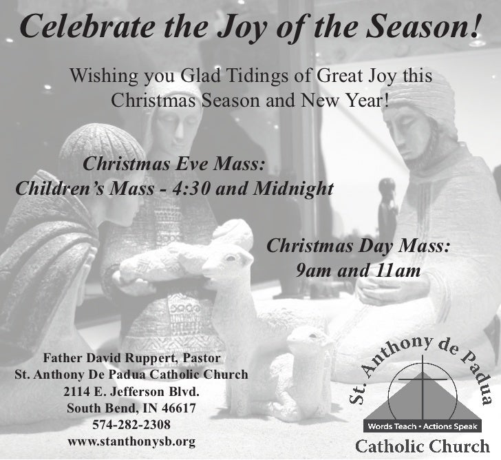 Celebrate the Joy of the Season!        Wishing you Glad Tidings of Great Joy this            Christmas Season and New Yea...