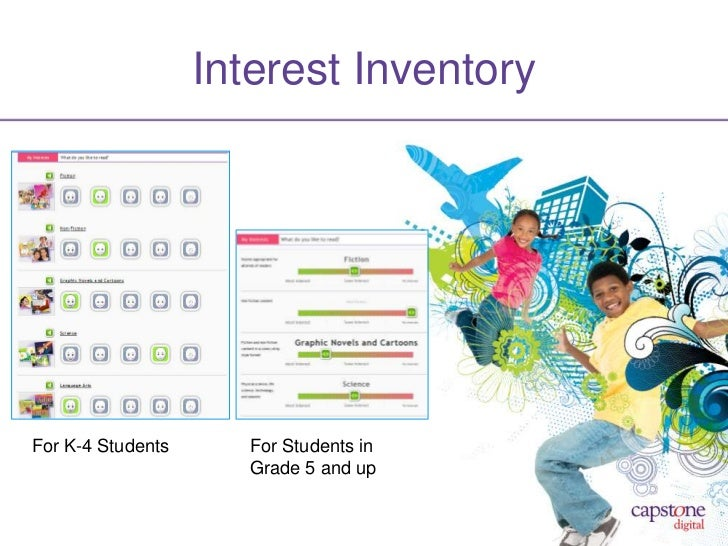 Interest InventoryFor K-4 Students      For Students in                      Grade 5 and up