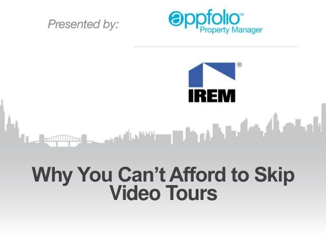 Why You Can't Afford to Skip Video Tours