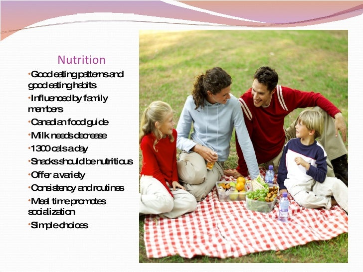Meeting the nutritional needs of toddlers