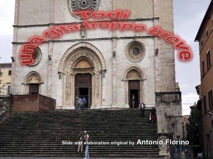 Slide and elaboration original by  Antonio Florino