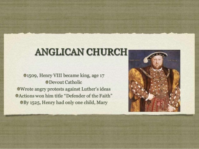 king henry viii and the church Henry viii broke away from the catholic church in rome and closed the monasteries to help him in his struggle with the catholic church, henry needed help from protestants he split away from rome because he wanted to divorce catherine of aragon and marry anne boleyn the act of supremacy made him head of the.