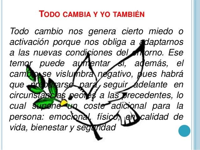 TODO CAMBIA Y TO TAMBIEN Slide 2