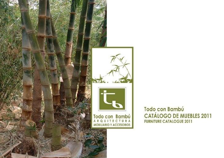 Todo con bambu   cat 2011