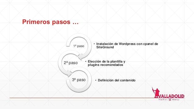 Todo empieza desde cero - WordPress Valladolid Slide 2