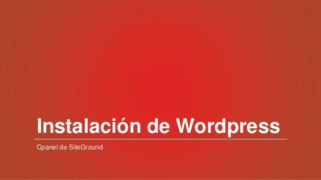 Todo empieza desde cero - WordPress Valladolid Slide 3