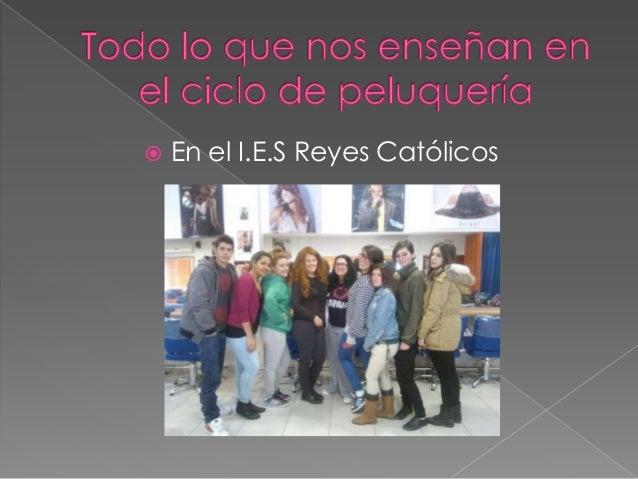  En el I.E.S Reyes Católicos