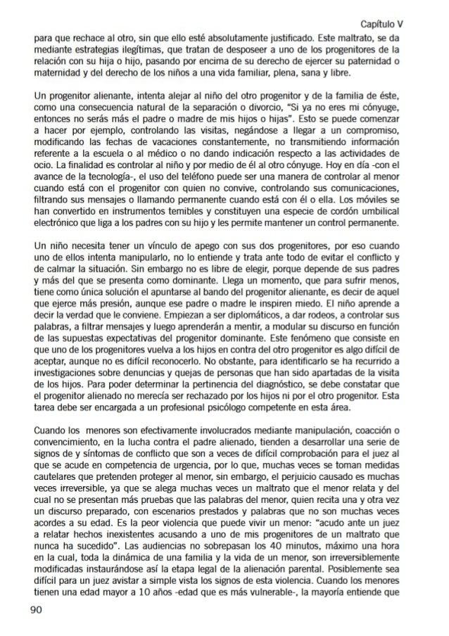 Libro SAP ( Síndrome de Alienación Parental ) - Uruguay - Parte 2