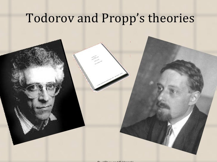 Todorov and Propp's theories By J.Elsey and S.Hirasaki