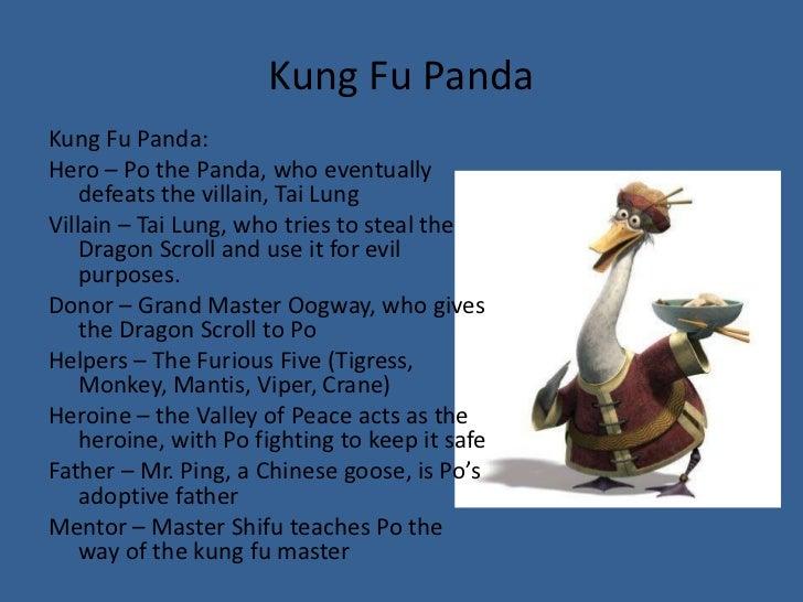 kung fu panda theory