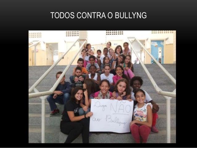 TODOS CONTRA O BULLYNG
