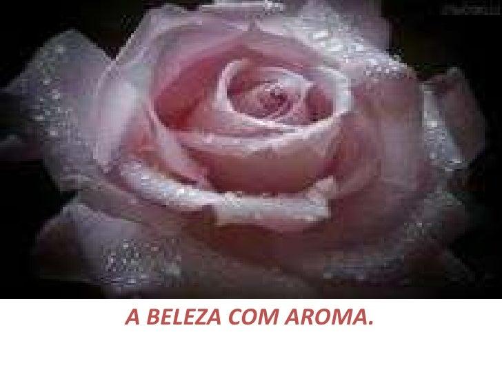 A BELEZA COM AROMA.