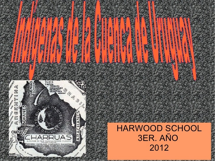HARWOOD SCHOOL   3ER. AÑO     2012
