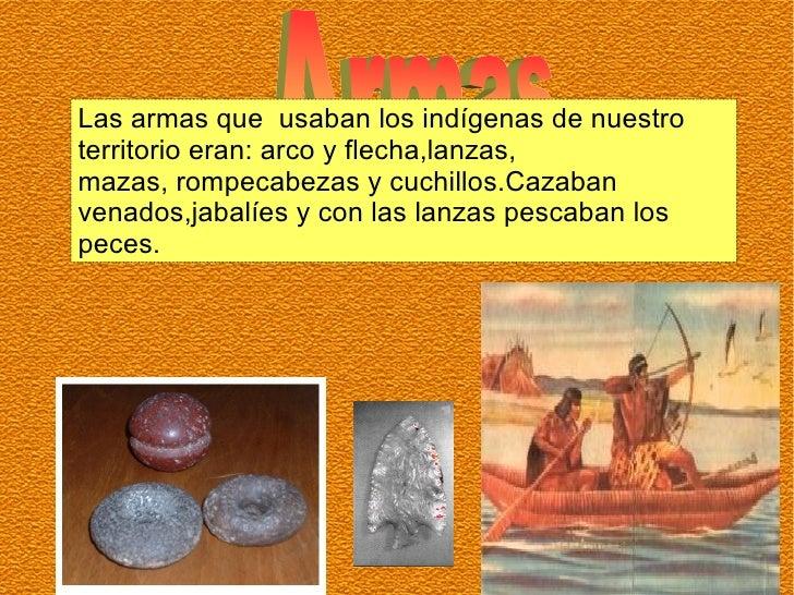 Collares que usaban los indigenas