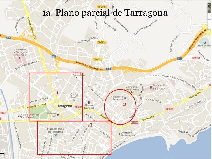 Mapa De Tarragona Pueblos.Planos Urbanos Ciudades Villas Y Pueblos De Espana 1