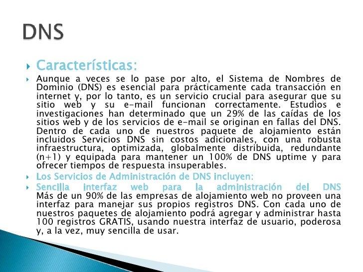 Características:<br />Aunque a veces se lo pase por alto, el Sistema de Nombres de Dominio (DNS) es esencial para práctica...