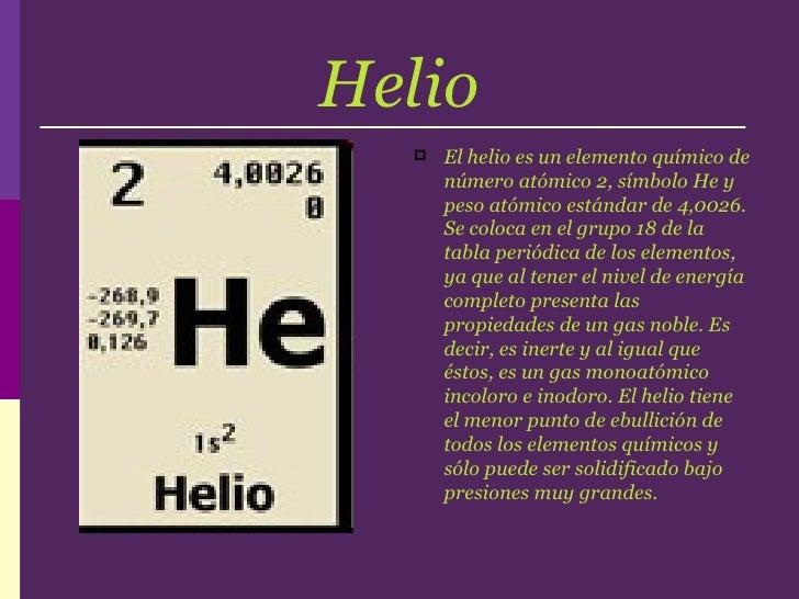 Todo sobre el elemento helio urtaz Gallery