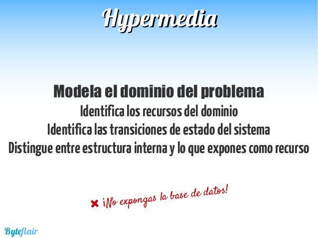 HypermediaHypermedia Recursos del dominio Vehicles Drivers Users Owners Sessions Transiciones de estado Crearrecursos Filt...