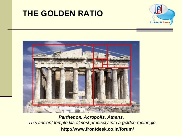 Golden Rectangle In Architecture principle of architecture