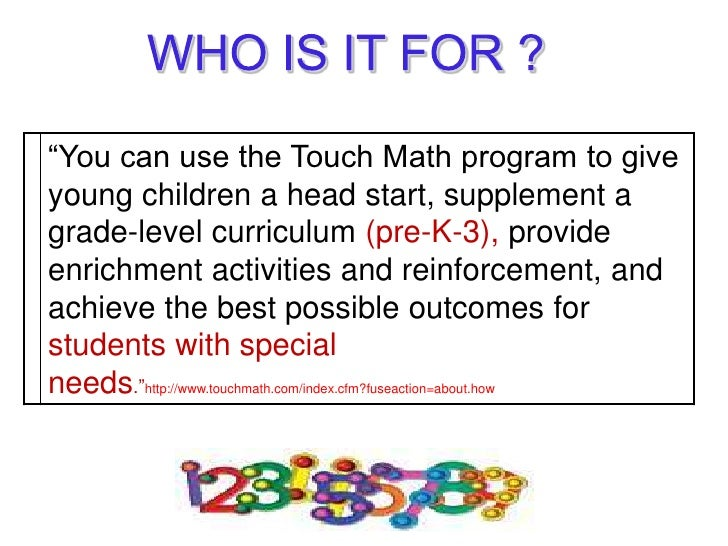 Touch Math Addition Worksheets & 1000 images about touch math on ...