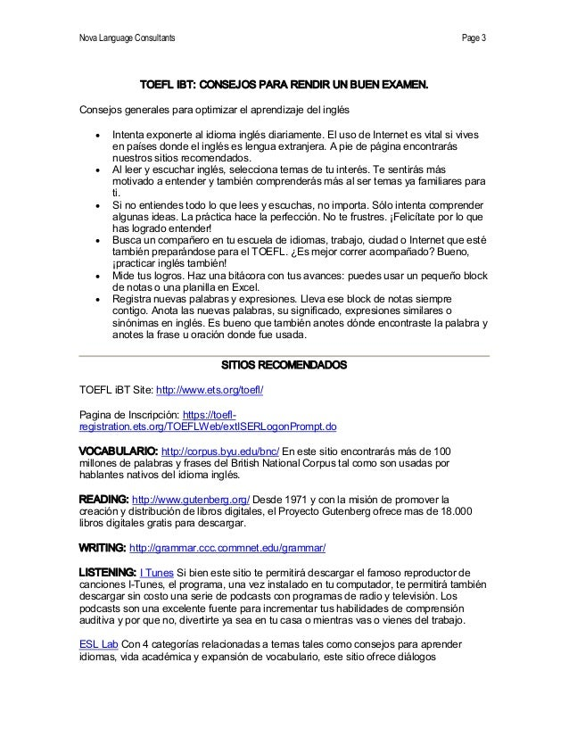 TOEFL iBT:  Cambios2006 Slide 3