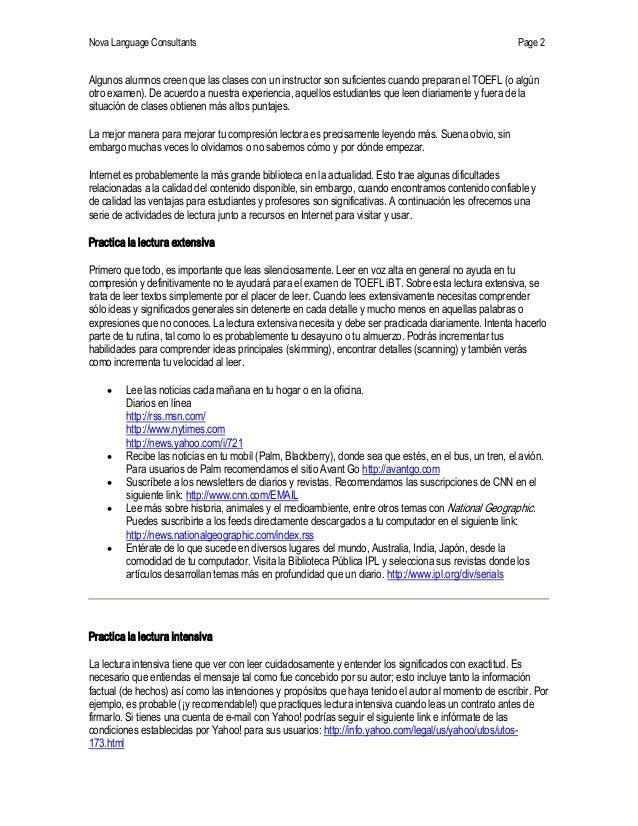 NovaLanguageConsultants Page 2 Algunosalumnoscreenquelasclasesconuninstructorsonsuficientescuandopreparan...