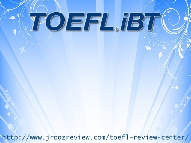 The Meaning of TOEFL