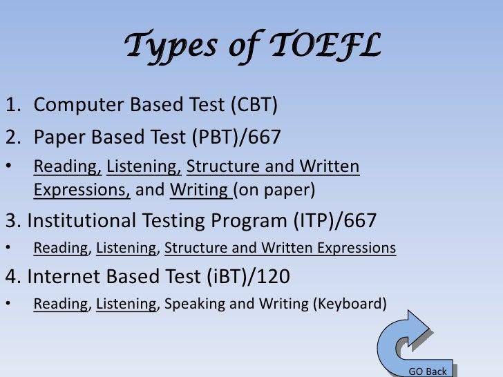 Toefl essay rules