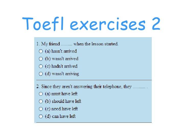 image relating to Toefl Exercises Printable identify Toefl Workouts 2