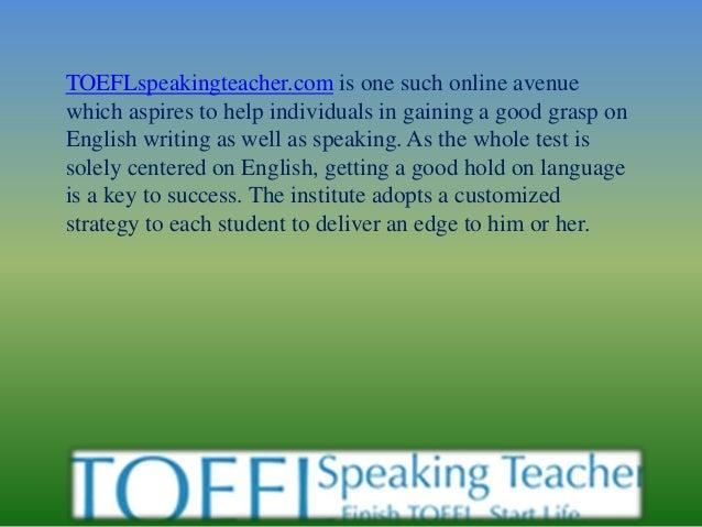 Toefl practice speaking questions Slide 2