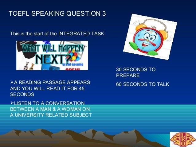 Toefl speaking 3 pp Slide 2
