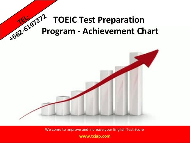 TOEIC Test PreparationProgram - Achievement ChartWe come to improve and increase your English Test Scorewww.tciap.comTEL:+...