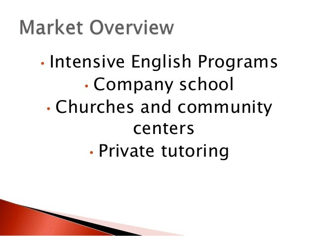 Toeic test prep training program marketing presentation