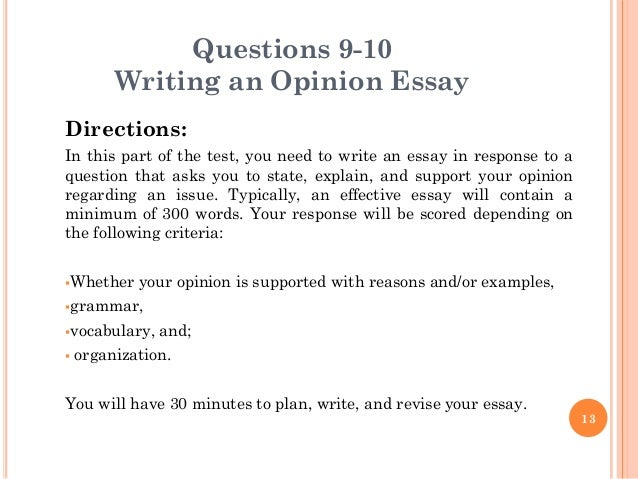 toeic writing essay questions Toeic® writing test part 1 :pictures there are 10 questions in this part of the test toeic writing writing part 1 toeic sections listening and reading.