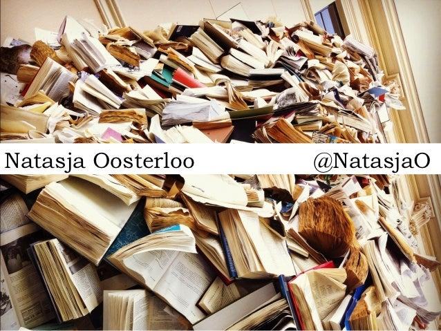 Natasja Oosterloo   @NatasjaO