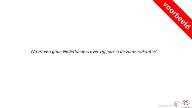 paulblok.com   Waarheen  gaan  Nederlanders  over  vijf  jaar  in  de  zomervakan?e?
